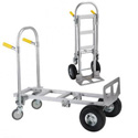 Wesco 220000 Spartan Junior Convertible Production Cart & Hand Truck