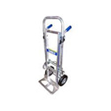 Wesco 220293 Cobra Junior Convertible Production Cart & Hand Truck (Rubber)