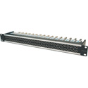 Canare 264U-DVJBS 6X26 4RU 75 Ohm Digital Video Patch Bay (Straight Through)