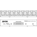 Aviom 28-XF-DB Analog Module for PB28 8 Female XLRs Front to 1 DB25 Rear
