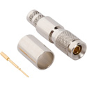 75 Ohm 1.0/2.3 DIN Plug for Belden 1694A Cable