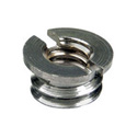 3/8in Euro to 1/4-20 Female Adapter
