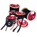 Black Softcinch VELCRO® Brand Polywrap Bulk 75 Foot Roll