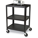 Bretford 24W x 18D x 34H AV Cart with 3 Shelves