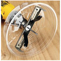 Ideal 35-599 10 Inch  Adjustable Hole Saw With Dust Shield