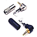 Switchcraft 35HDRANAU 3.5mm / 1/8in Mini Right Angle Stereo Plug