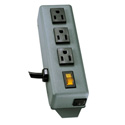 Tripp Lite 3SP 3 Outlet Power Strip with 6 Ft. Cord
