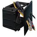 Datacomm Recessed Media Box Black