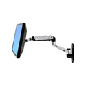 Ergotron 45-243-026 LX Wall Mount LCD Arm And Mounting Kit -Silver