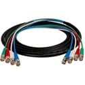4-Channel BNC Snake Cable 3 Foot