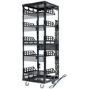 Middle Atlantic 5-37-CONFIG 29RU 6-Shelf Configured & Assembled Rack