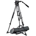 Manfrotto 526 Pro Fluid Video Head & 545GB Pro Alu Video Tripod w/MBAG100P