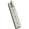Waber-by-Tripp Lite 6SPDX-15 6-Outlet Power Strip with Relocatable Power Tap