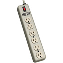 Waber-by-Tripp Lite 6SPDX 6-Outlet Power Strip w/Relocatable Power Tap
