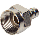 F Series Connector for RG-59 with 1/2in Crimp Ring