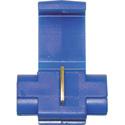 NTE 76-QS16Q Quick Splice 16-14Awg Blue Self Strip Polypropylene Tin Plated Bras
