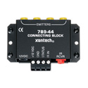 Xantech 78944 One Zone Four Source Connecting Block / 1x4 IR Emitter