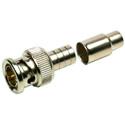 Amphenol Connex 112116 50 Ohm BNC Straight Crimp Plug for RG-58 Plenum Coax - LM