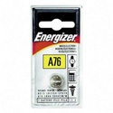 Energizer A76BPZ / LR-44 Zero Mercury Alkaline Coin Cell Battery 1.5 V DC - 1 Each