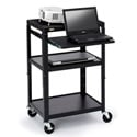 Bretford A2642NS Adjustable Multimedia Cart