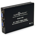 Audio Authority 1366 Bidirectional VGA to Component Video Scaler with Overscan