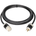Heavy Duty 12-3 15 Amp Stinger AC Cord 12 Foot