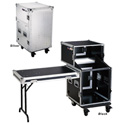 MR Combo Flight Case 12RU Bottom Rack