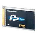 P2 Card for Panasonic AG-HVX200 32 Gig