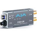 AJA FiDO-2R Dual Channel Fiber to SDI Converter Receiver
