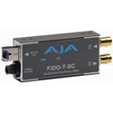 AJA FiDO-T-SC 1-Channel SDI to SC Fiber Converter w/Looping SDI Out