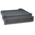 AJA FR1D 1RU 4 Slot Rackmount Frame 40W Forced Air Cooling Dual Power Supplies