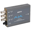 AJA HD10AM HD/SD 8-Channel AES Embedder Disembedder