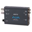 AJA HDP2 HD-SDI/SDI to DVI-D and Audio Converter