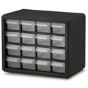 16 Drawer Plastic Frame Storage Cabinet
