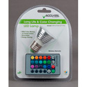 ADJ  MR16 RGB E27 PAK RGB Color Mixing LED Lamp