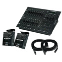 American DJ Stage PAK 1 Stage Lighting System With DMX Control