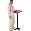 XPEDITER Adjustable Lectern Mahogany