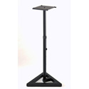 Quik Lok BS-300  Straight Monitor Stand w/ Single Adjustable Height Column