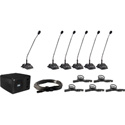 Anchor Audio CM-6 Councilman 6 Microphone Package
