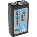 Ansmann 5035453 Max E Plus 9V Rechargeable Battery 250mAh - Pack of 1