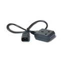 APC AP9881 Power Cord C14 to BS1363 (UK) 0.6m