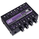 ART-MACMIX 4 Channel Line Level Unbalanced Audio Mixer