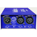 ARX IC-1 Audibox Iso Combiner Transformer Two Sources Into One XLR