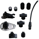 Audio-Technica Omni Condenser Lavalier Microphone /wPower Supply & Accessory Kit