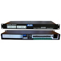 ATI DA208 Dual 1X4 Distribution Amplifier with Clip LEDs Plus-18dBm Output