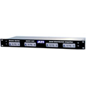 ATI DA412 Quad 1X3 Distribution Amplifier with Plus-22dBm XLR I/O