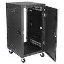 Atlas RX21-30SFD 30 Inch Deep 21RU Mobile Equipment Rack