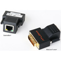 Atlona AT-DVI60SRS Passive DVI Extenders Over single Cat5/6/7 (Transmitter and R