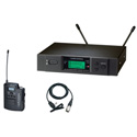 Audio-Technica 3000 Series Wireless Lavalier Mic System (D Band)