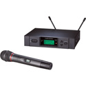Audio-Technica ATW-3141b 3000 Series Handheld True Diversity UHF Wireless System - D Band 655.500 - 680.375 MHz